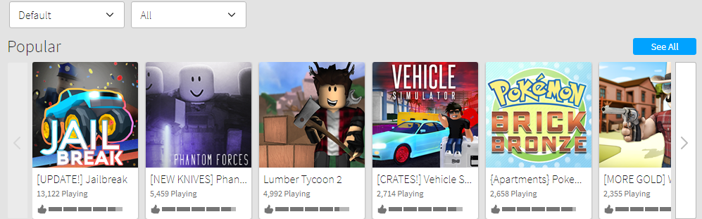 Roblox Games Image