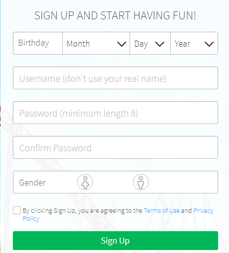 Roblox Sign Up Image