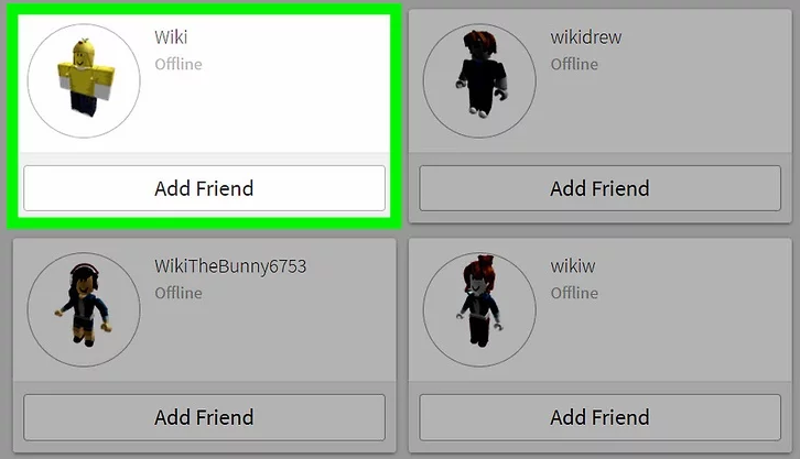 how to add friends in robloc